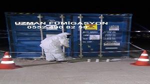 Konteyner fumigasyonu hizmetinde dolu konteyner fumigasyon ve boş konteyner fumigasyonu olmak üzere iki bölümde hizmet sunulmaktadır.